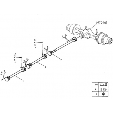 CARDAN COMPLET RENAULT MILDUM 5010524243